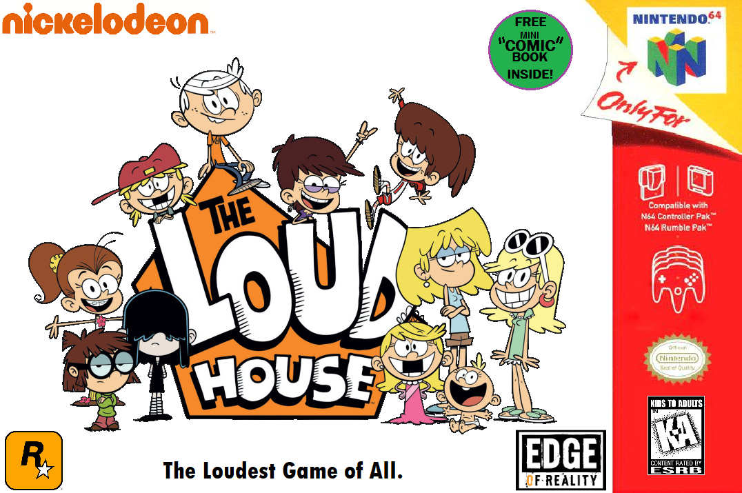 The Loud House N64 cover by MahBoi-DINNER on DeviantArt