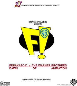 Freakazoid v The Warner Bros. poster