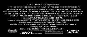 The Darkness Within Billing Block credits