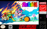 Unikitty SNES cover (fanmade)