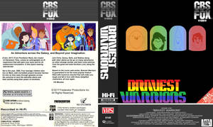 Bravest Warriors VHS cover (fanmade)