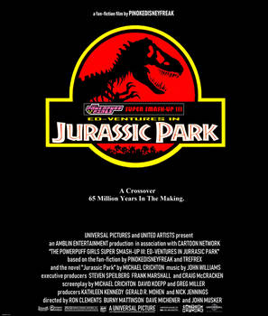 Ed-Ventures in Jurassic Park poster (fanmade)
