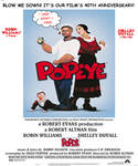 Popeye (1980) 40th Anniversary poster