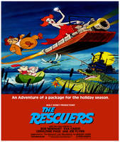 The Rescuers poster (1983)