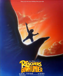 The Rescuers Down Under poster (fanmade)