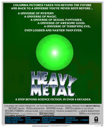 Heavy Metal 40th Anniversary poster
