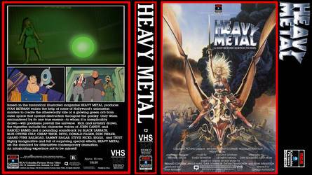 Heavy Metal 1982 VHS (fanmade)