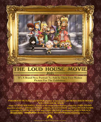 The Loud House Movie Retro-ish poster
