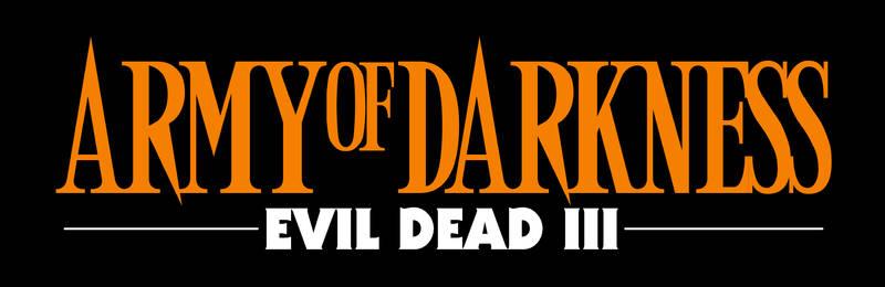 Army of Darkness logo (alternate)