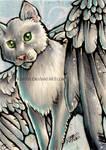 ACEO: Night Cat