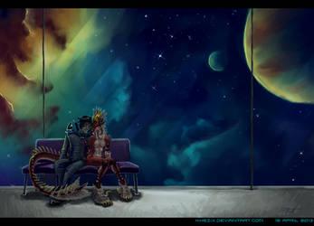 Intergalactic Romance by Khezix