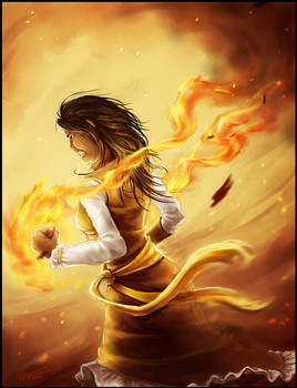fiery temper (and matching fists)
