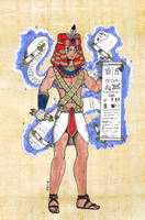 master of the papyrus by Fedextreme
