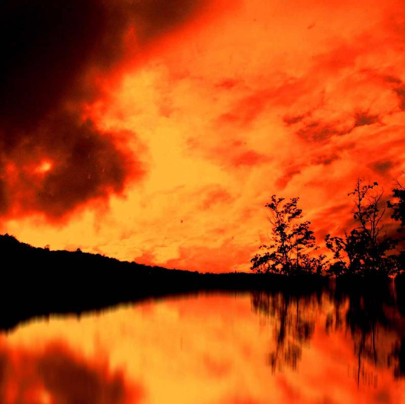 Orange square 0 by nicolaperasso