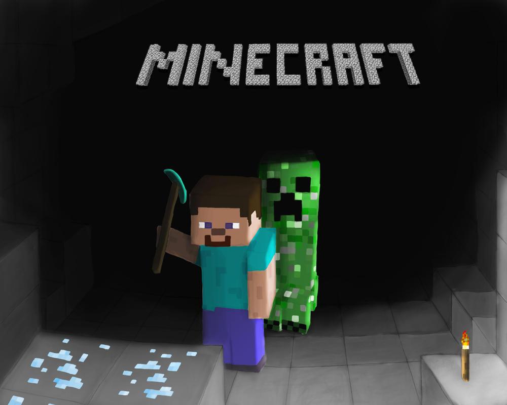 Cuanto se puede hacer en un mundo pixelado? Minecraft_by_xephio-d30a07x