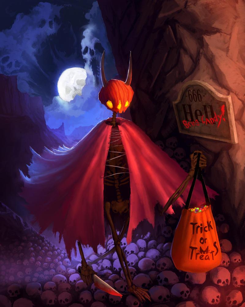 End of Halloween by kerimakyuz