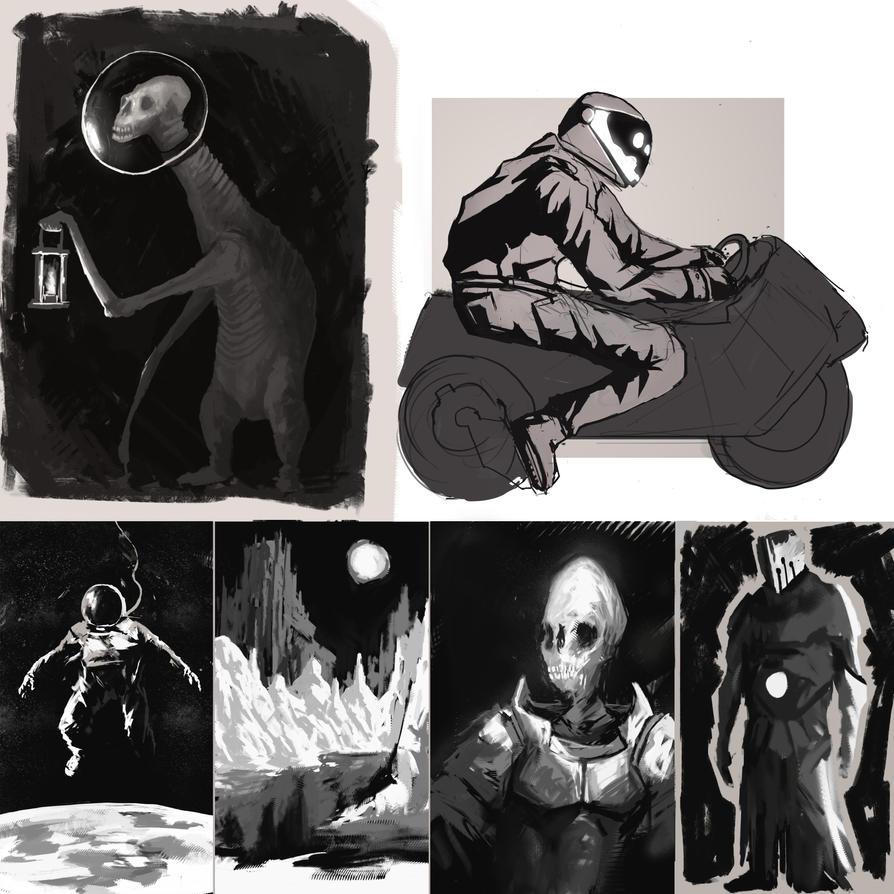 blacknwhitestuff by kerimakyuz