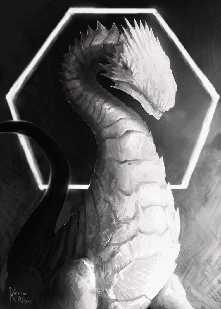 White Dragon by kerimakyuz