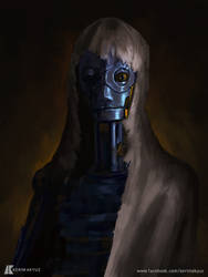 Daily Imagination #343 - Wretched Automaton 2 by kerimakyuz
