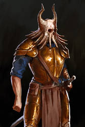bone beard sketch by kerimakyuz