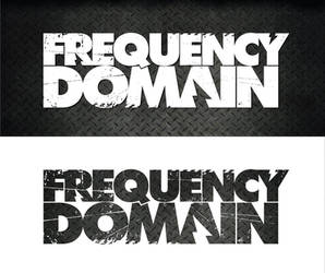 Frequency Domain logo concept by 54NCH32