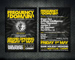 Frequency Domain Flyer Design