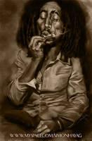 Bob Marley by simonhayag