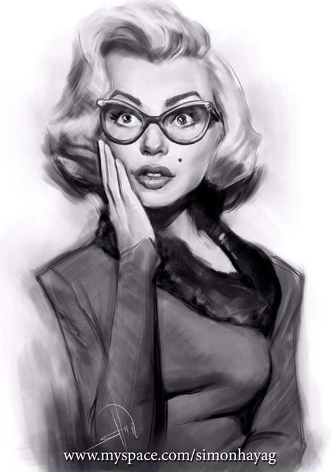 Marilyn Monroe by simonhayag