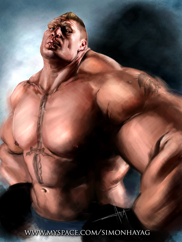 Broc Lesnar by simonhayag