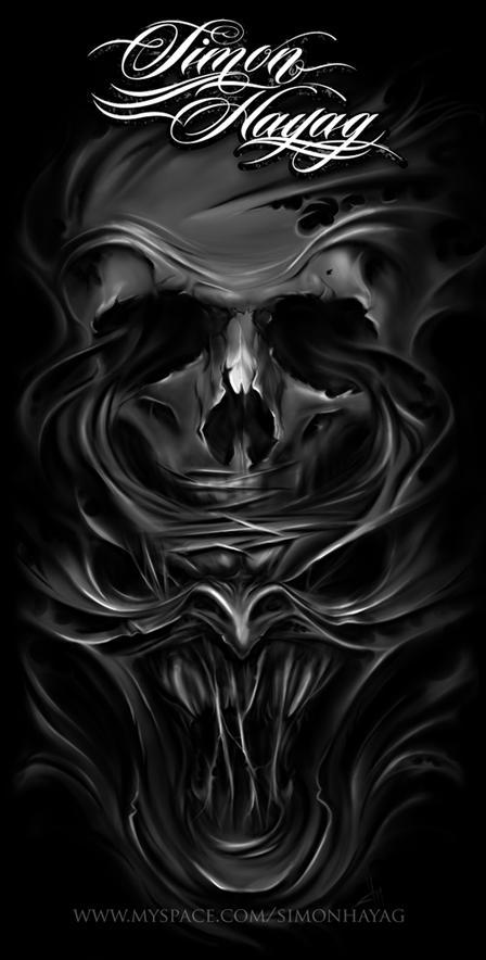 skull by simonhayag