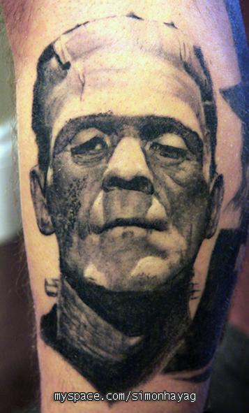 frankenstein tattoo by simonhayag on DeviantArt  frankenstein ta...