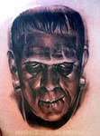 Frankenstein tattoo 2