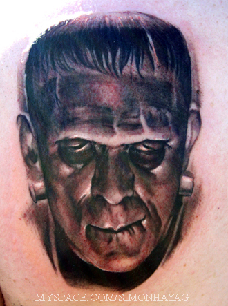 Frankenstein tattoo 2 by simonhayag