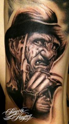 Freddy Kruger tattoo