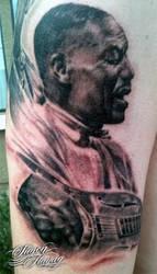 Son House tattoo