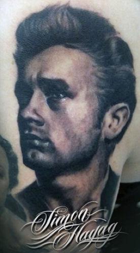 James Dean Tattoo