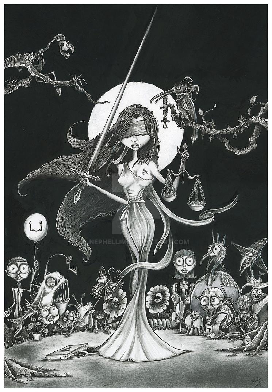 Justitia by Nephellim