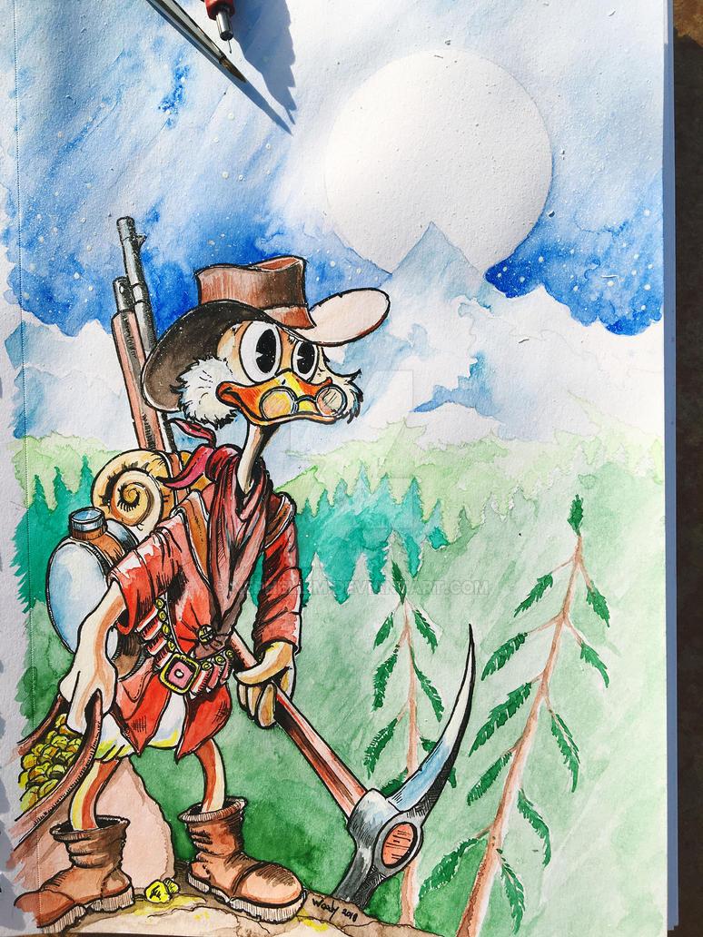 ScroogeMcDuck by Nephellim