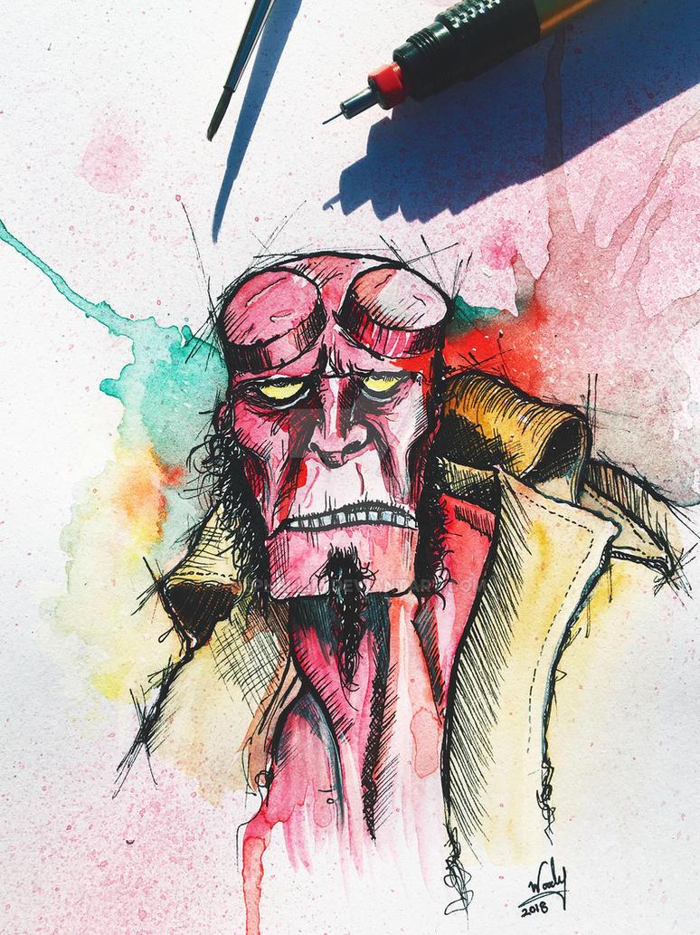 Hellboy by Nephellim