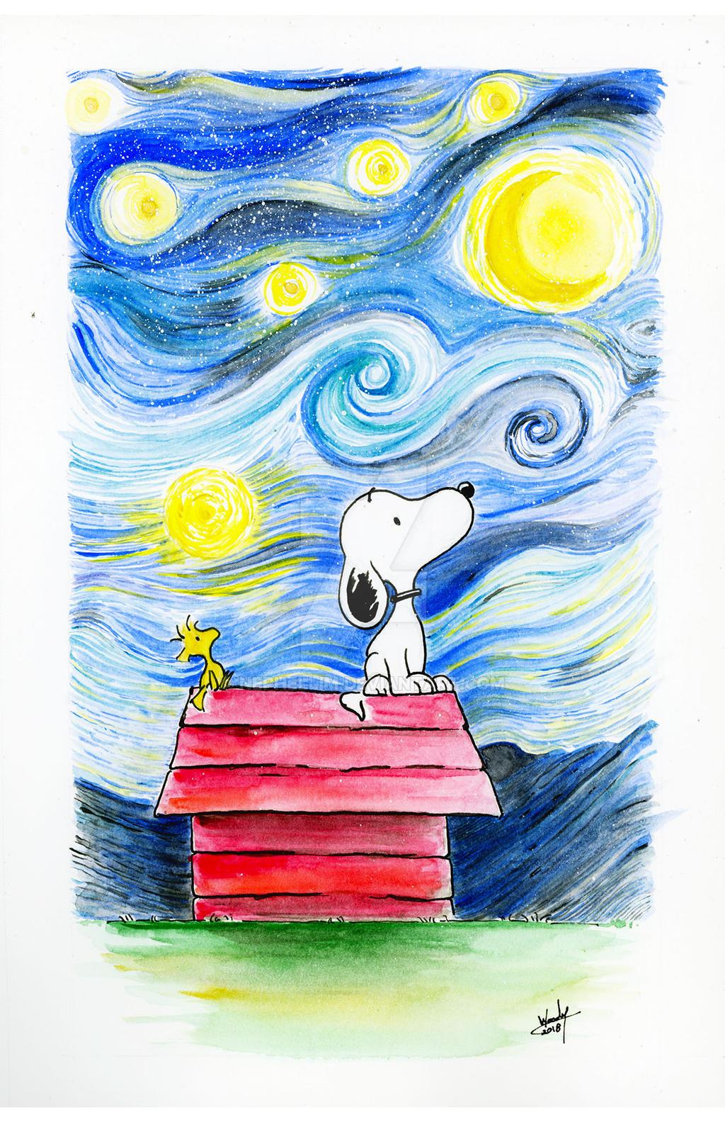 Snoopy by Nephellim