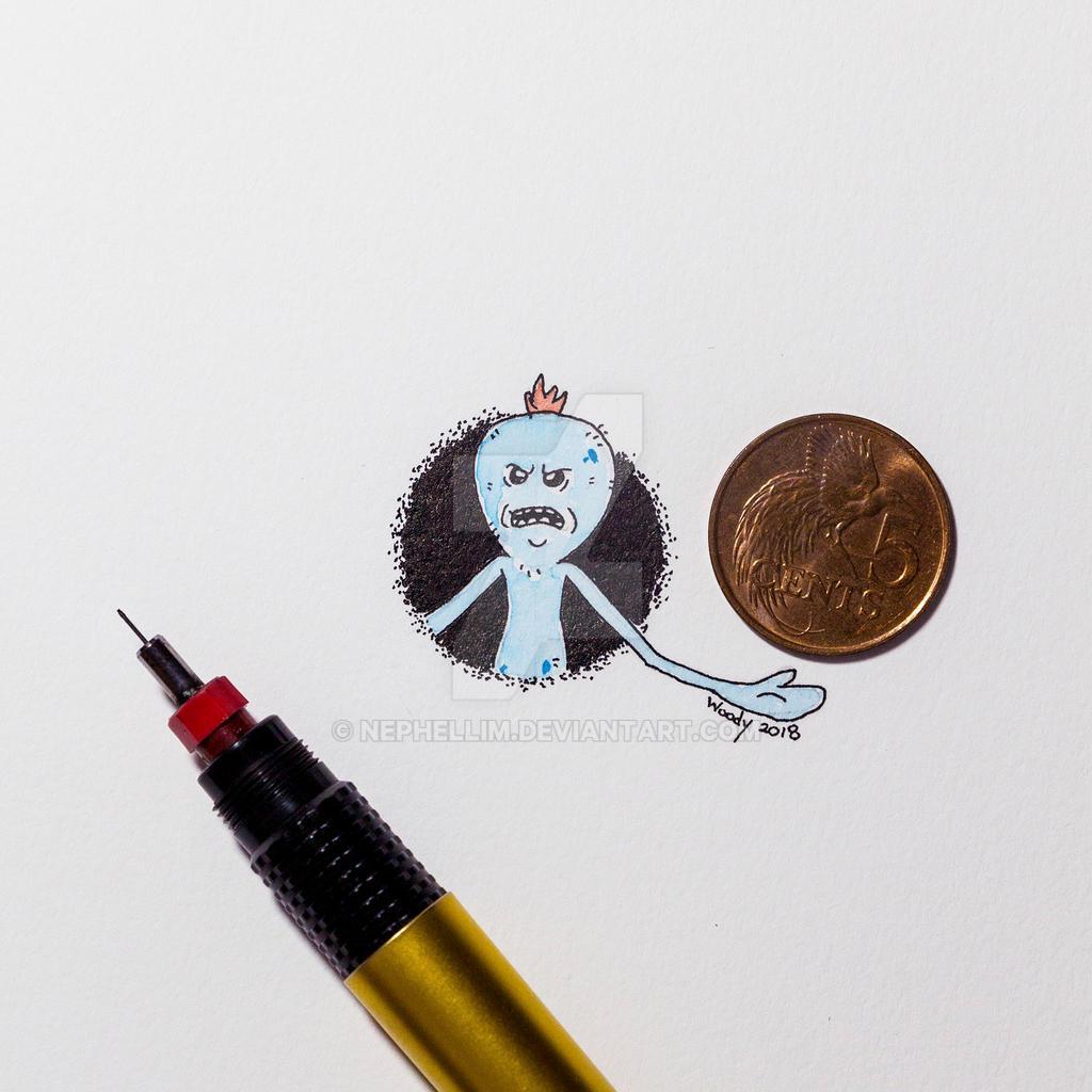 Mr Meeseeks by Nephellim
