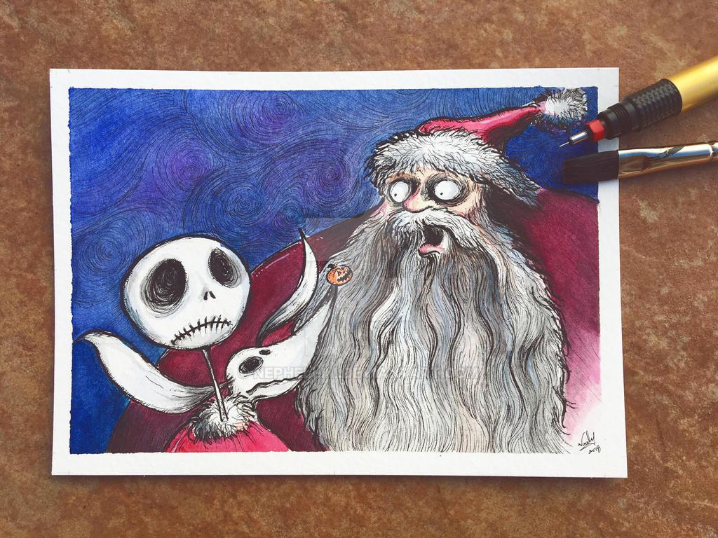 Nightmare Before Christmas by Nephellim