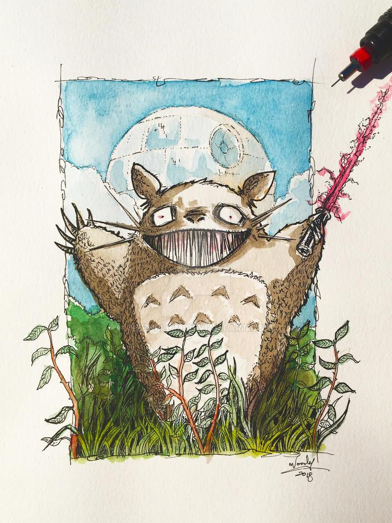 Totoro by Nephellim