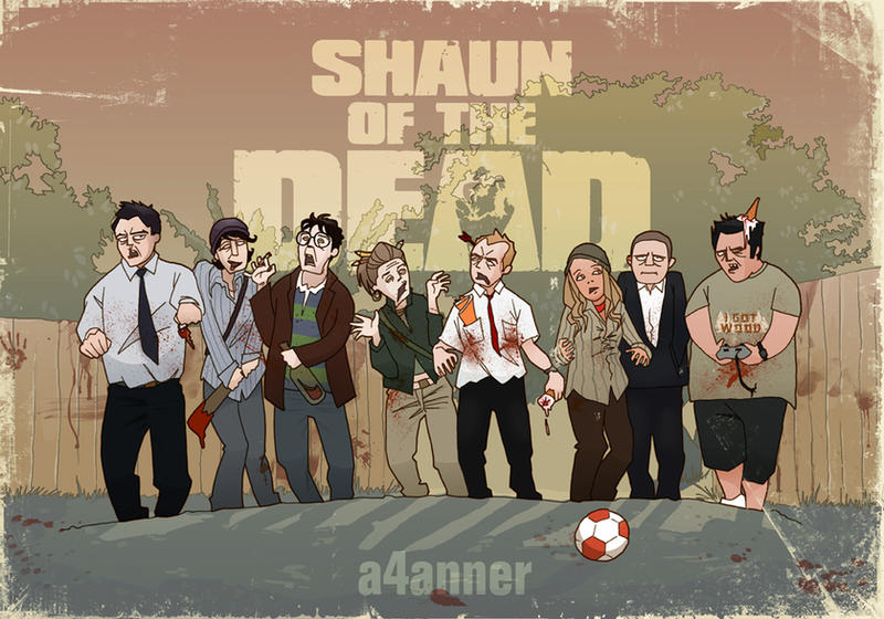 Shaun of the Dead by a4anner