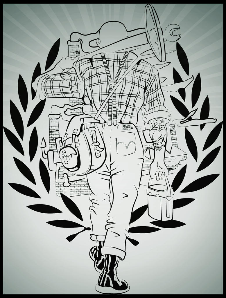Skinhead Working Class By Cinges On Deviantart