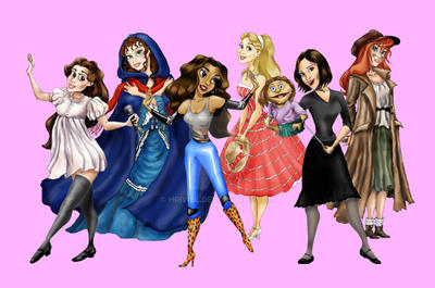 The Broadway Princesses by hriviel