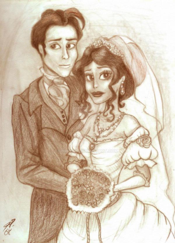The Wedding Portrait by hriviel
