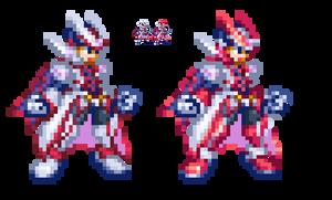 Zero Ultimate Armor by Dandy-ManX