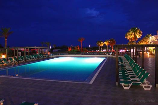 Nights near the pool