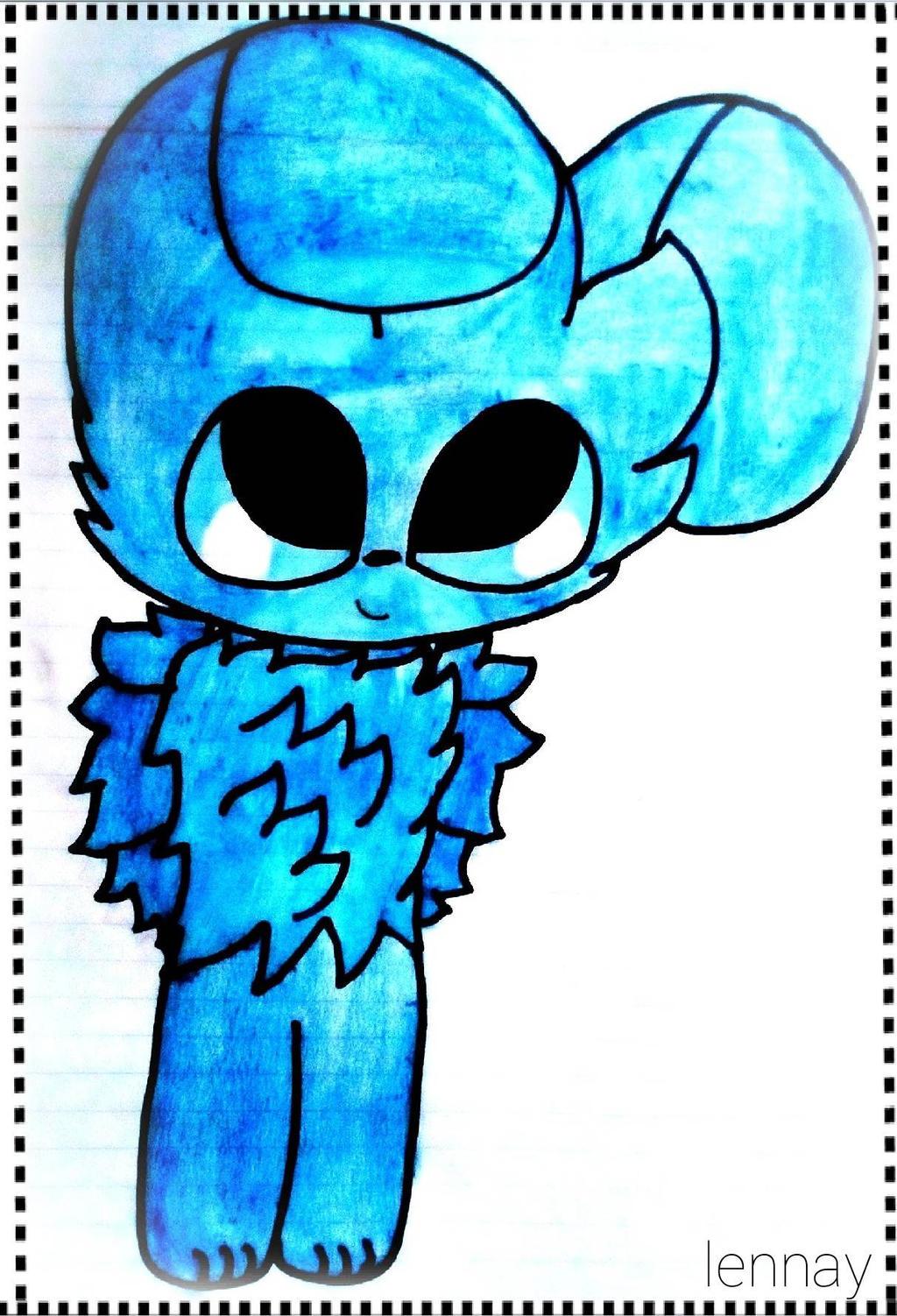 .: Blue :.  by Lanney-Dann